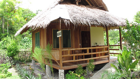 Mayas Native Garden: Aircon cottage