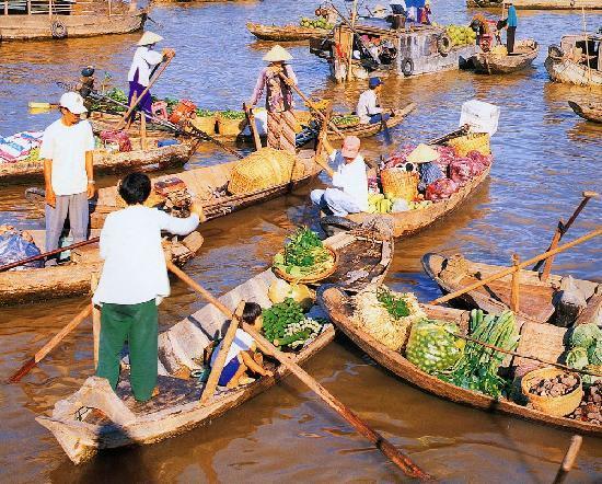 Vietnam Phoenix - Day Tours: Delta River Floating Market
