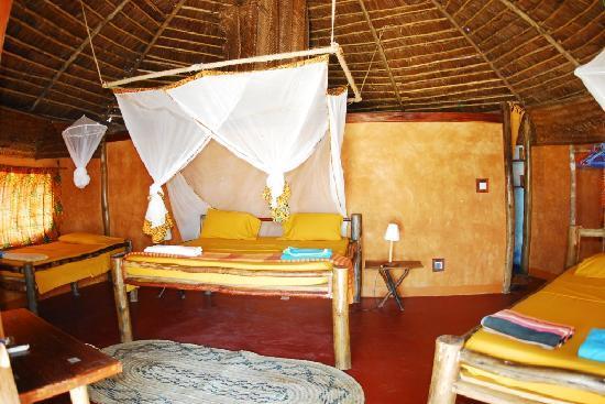 Kimbilio Lodge: Bungalow charming interiors