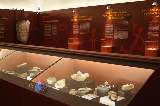 """Centro de Interpretacion - La Prehistoria en Guadalteba: Interior del Centro de Interpretación """"Tartessos en Guadalteba"""", Almargen (Málaga)"""