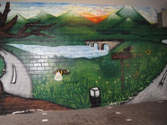 Lahr, Germany: Bunter Parkplatz im Hotel
