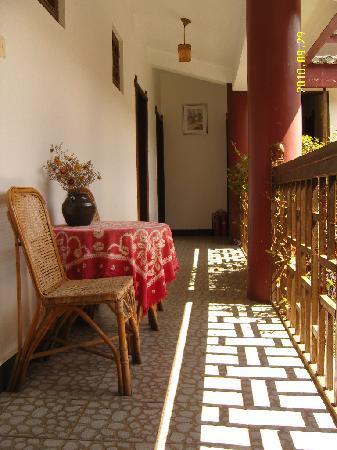 Maple Leaf Inn: Balcony