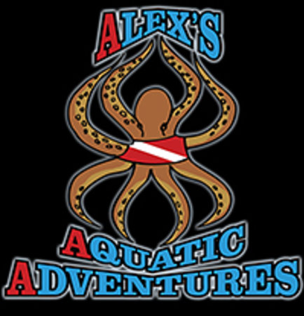 Alex's Aquatic Adventures logo