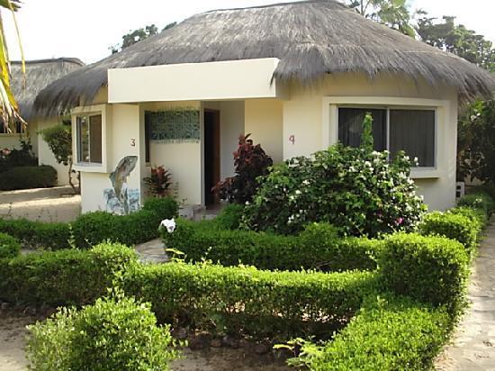 La Lagune: les cases