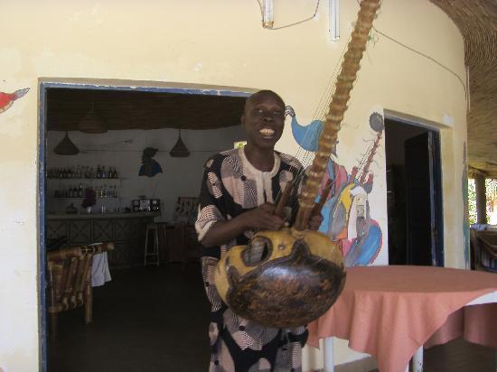 La Lagune: le joueur de cora