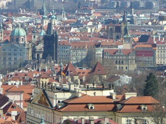 Hradschin (Burgstadt/Hradčany): view over the city