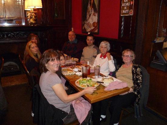 Freestone's City Grill: Family reunion at Freestones