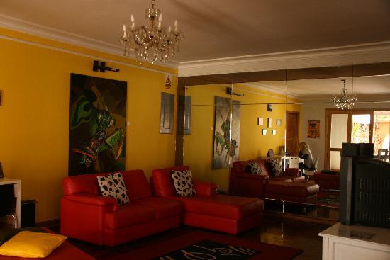 HQ Villa Hostel: The TV room