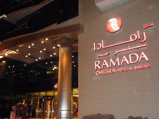 Ramada Chelsea Al Barsha : outside