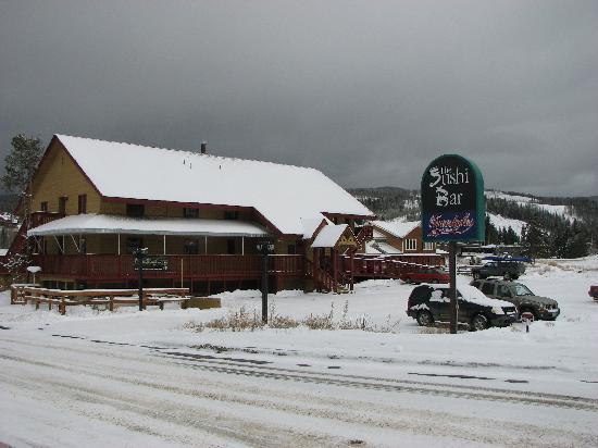 The Sushi Bar: Sushi Bar, Winter Park CO