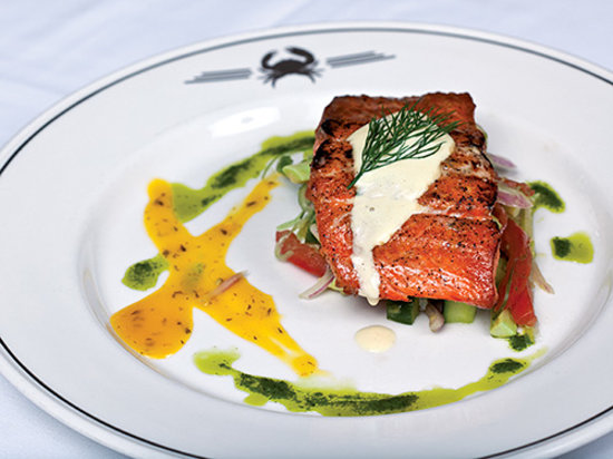 Truluck's Seafood, Steak and Crab House: False Pass Salmon
