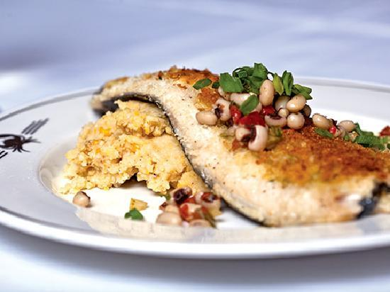 Truluck's Seafood, Steak and Crab House: Crab Stuffed Trout