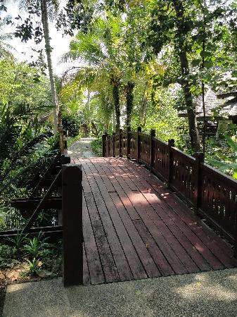 Tanjong Jara Resort: Bridge to Adult Pools