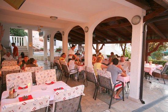 Villa Paula : Terase