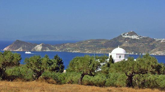 Milos, Griechenland: Agia Marina