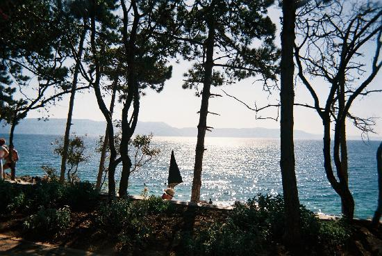 Sunrise Girandella Villas : Rabac - vu de l'hôtel