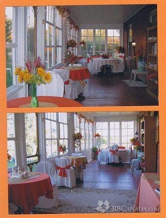 Wakamow Heights Bed and Breakfast: Autumn on the Verandah