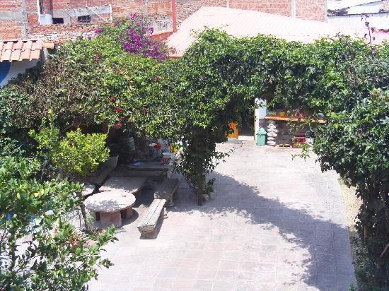 # Pachamama Hostel: Patio interior del hostal Pachamama