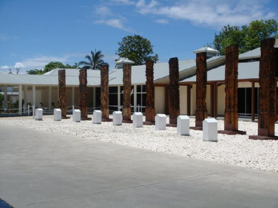 Heritage Park Hotel Honiara: from the front of hotel
