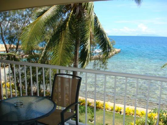Heritage Park Hotel Honiara: view from 212 balconey