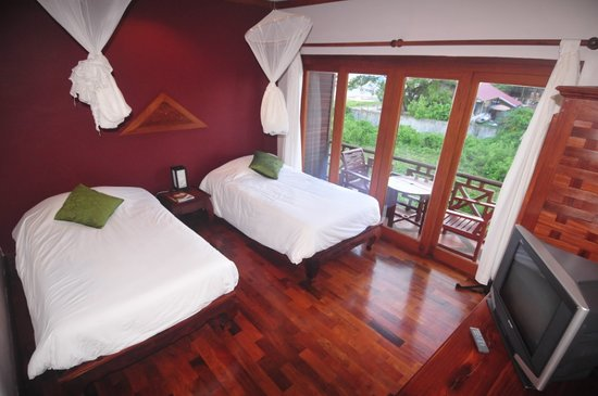 Superior Twin Room at Inthira Vang Vieng