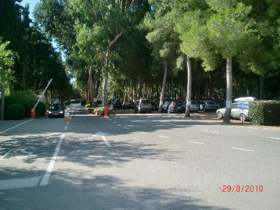 Campingvillage Le Capanne: Eingang zum Campingplatz
