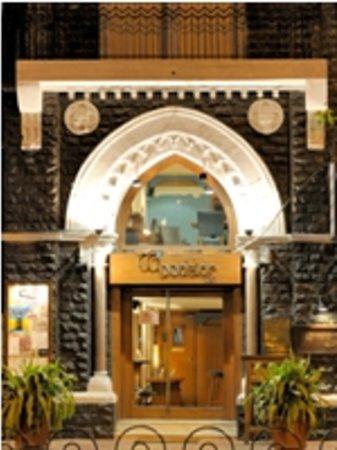 Woodside Inn Restaurant: Entrance to Woodside Inn