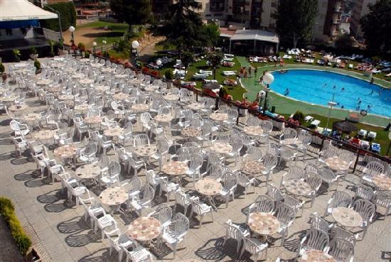 Hotel Samba : Terrace