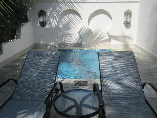 Baraza Resort & Spa: Private Plunge Pool