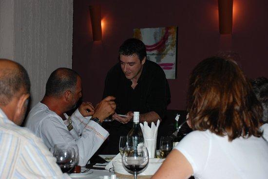 Divino Restaurant, Wine & Bar : Magic Night at the restaurant on Friday 19/11/2011 with Guy Pardillos www.guy-pardillos.net