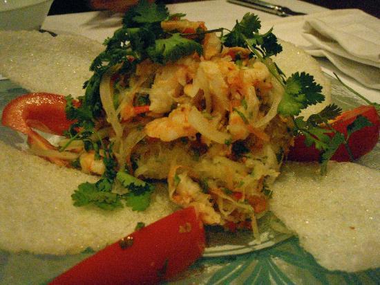 Green Mango: Green papaya salad