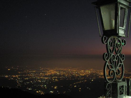 Sterling Mussoorie: View from the resort (at night)
