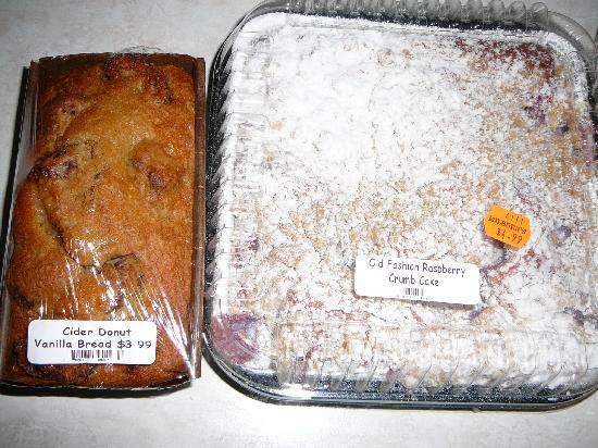 Milburn Orchards: Baked Goods from Milburns 2010