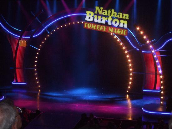 Nathan Burton Comedy Magic: the stage