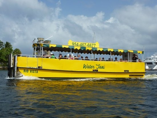 water taxi boat