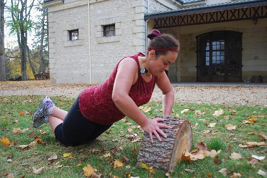 NuBeginnings France : Working out in the sun