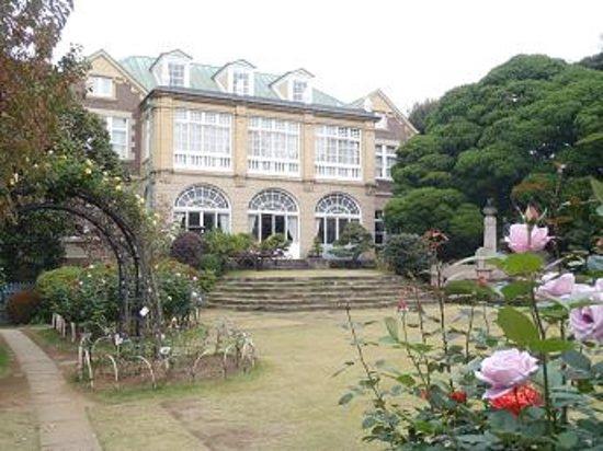 Bunkyo, Japan: お庭から見た鳩山家