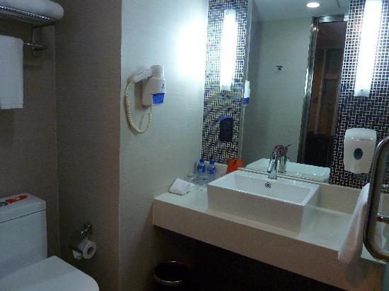 Benjoy Hotel Shanghai Jufeng Road: Badezimmer