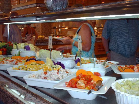 Hotel Riu Playa Park: Buffet