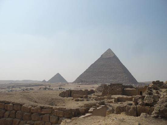 Swiss Inn Nile Hotel: Pyramids at Giza