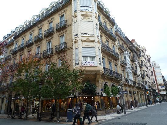 Pensión La Perla: 建物2階部分です