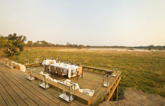 Zungulila Bushcamp - The Bushcamp Company: With stunning, open views onto the Kapamba River, Zungulila Bushcamp is a truly remote camp safa