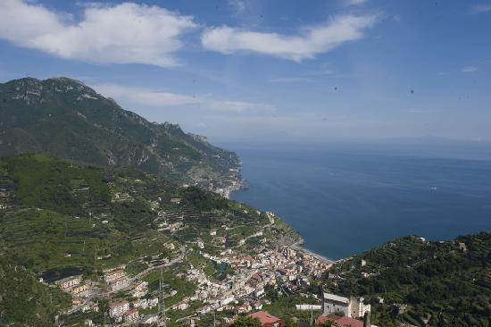 view from Ravello Rooms terrace