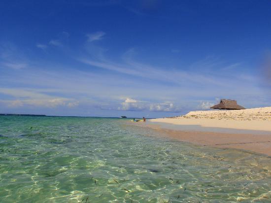 Siargao Inn: Eines der vielen Inseln
