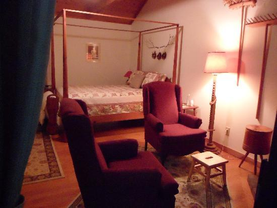 Mountain Top Lodge at Dahlonega: Our room