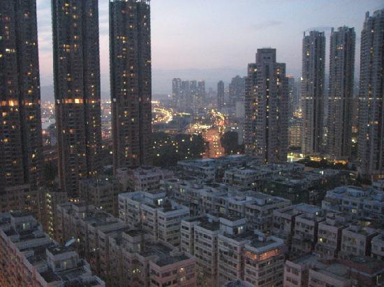Dorsett Mongkok Hong Kong: A view from my room 16th floor..