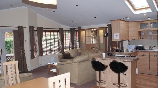 Llanrug, UK: our lodge