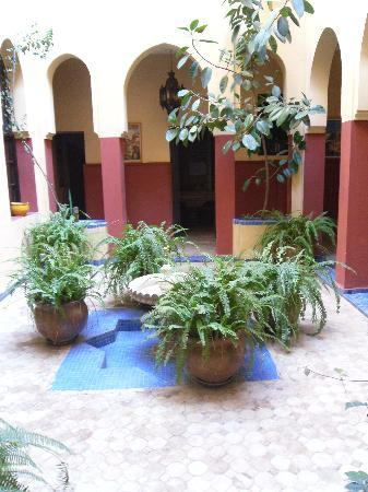 Dar Naima: The yellow patio