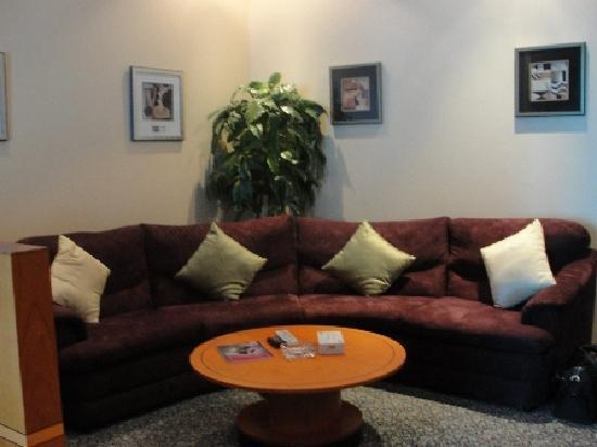 Elite Suites: living area