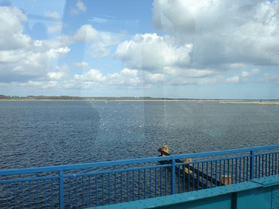 Usedom Island, Germany: Über das Achterwasser nach Usedom